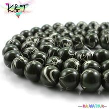 Bulk high quality glass painting jewelry beads