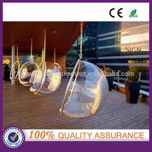 acrylic hanging bubble ball chair , acrylic ball chair , hanging ball chair