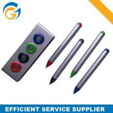 Mini Ball Pen Set with 4 Color # Red Black Green Blue