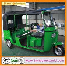 China 6 passenger bajaj three wheeler CNG auto rickshaw / CNG 3-Wheel Scooter Taxi /Bajaj three wheeler CNG auto rickshaw