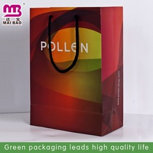 wholesale high grade 2014 xmas paper shopping bag