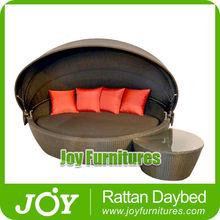 Rattan Round Footstool
