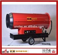 low surface temperature kerosene heater