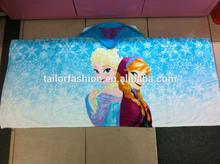 frozen cloak towel elsa and anna bath robe beach towel frozen