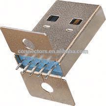 MINI USB DIP 5pins female copper Rohs a female usb 3.0 socket connector