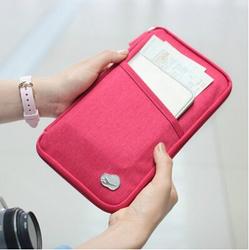 Korean Multifunction Passport holder Custom Passport Cover