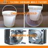 china custom 5 Gallon paint plastic bucket mould manufacturer