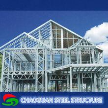 C Channel Light Gauge Steel Prefabricated Villa / steel structure villa / prefabricated house