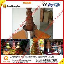 FACTORY PRICE chocolate fountain supplies/stainless steel chocolate fountain on sale/4-tier chocolate fountain