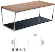 italy new brand design glass tea table design with lowest price