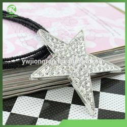 DJ060170 Star pendant necklace multilayer beaded crystal bib necklace set