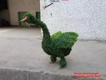 SJH101938 artificial animal topiary animals duck garden decoration