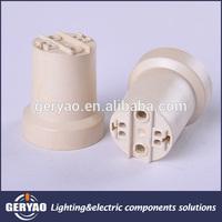 Hot selling CE ENEC VDE trumpet bugle E27 plastic light bulb holder