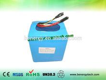 lifepo4 battery 24v 40Ah for EV /motorbike/golf cart