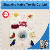 2014 new design various kinds Colorful Sequin Flower Applique