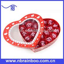 Hot selling 24 pcs rose shape soap flower bouquet ABPS027