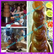 HOT SALE fountain chocolate/professional chocolate fountain/wholesale commercial chocolate fountain