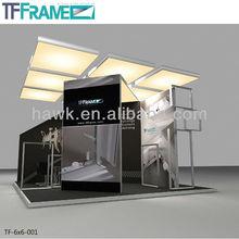 20x20ft Aluminum modular exhibition display booth for trade fair show