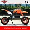 Chinese Electric Motorcycle New Kids Mini Pocket Bike Mini Dirt Bike For Sale Cheap (HP110E-A)