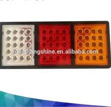 cheap High Quality Heavy LED Truck Tail Lights 12v 24v led Indicator/Stop/Tail/Reverse light