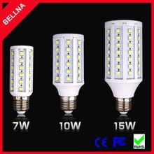SMD5050 E27 10W 20W 25W LED Corn Bulb Light White/Warm White