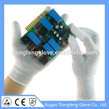 13 Gauge ESD PU Tip Glove - Carbon