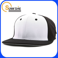 buy black and white flat bill wholesale design your own snapback hat