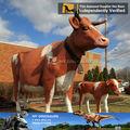 بلدي-- باركدينو المتحركة الحيوانات راتنج الحياة حجم الأبقار