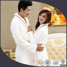 Luxury 100% cotton couples bathrobe