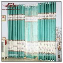 Italienischen stil vorhänge, smaragdgrün vorhänge, schwan vorhang