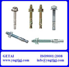 Types of Zinc Plated Steel Bolts Nuts All Size