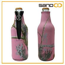 Hot selling customized fashion wine bottle bag, neoprene beer bottle cover