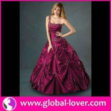 Wholesale high quality pink georgate gota work dress