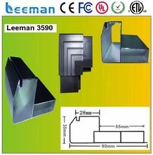 Leeman outdoor p10 dot matrix led module 32 inch wall mounted lcd digital advertisin screen flexible led curtain display P6