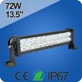 directa de la fábrica de china 72w barra de luz led offroad 4x4 luces
