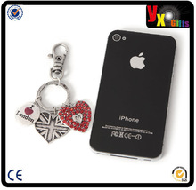 foot promotional/keyring carabiner/2014 Hot Sale Promotional Customized metal keychain
