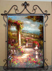 Vintage Wall Hanging Crafts Iron Art Frame, Home Decoration Arts And Crafts