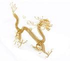 2014 new design Mascot Zodiac animal gold dragon