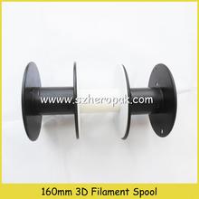 small plastic wire spool empty reel spools 160mm empty spool 3d