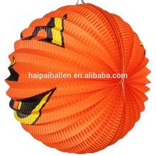 Halloween Decoration Props Supplies Pumpkin Paper Lanterns Halloween Items New