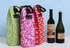 2014 New Product Top Quality Colorful Wine Bottle Box Tote Bag Carrier