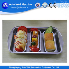 high quality aluminum foil airline tray with various shape
