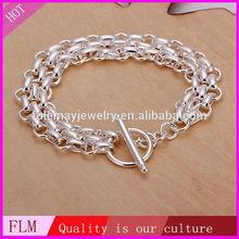 African sterling silver jewelry men's handmade bracelets FH071