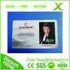 Free Sample..!!! Plastic name card/PVC name cards