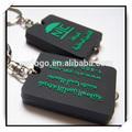 Melhor promoção pequeno presente chaveiro pvc macio anel logotipo personalizado atacado