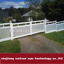 WS-FJ50-100 wood plastic childen school outdoor playground fences