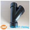 PVC fittings 4 inch wye for plumbing DWV pipe end/ CUPC PVC fittings