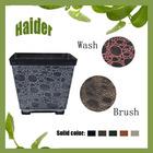 """8"""" Square Marble Pot Plastic Garden Cloche"""