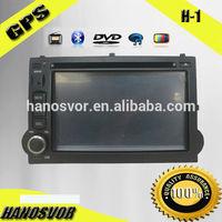 HANOSVOR Factory Directly Sale Touch Screen 2 Din Hyundai H-1/Grand Starex Car Radio DVD GPS