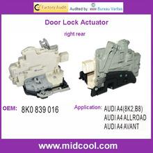 High Quality Door Lock Actuator For AUDI A4 8K0839016,8K0 839 016